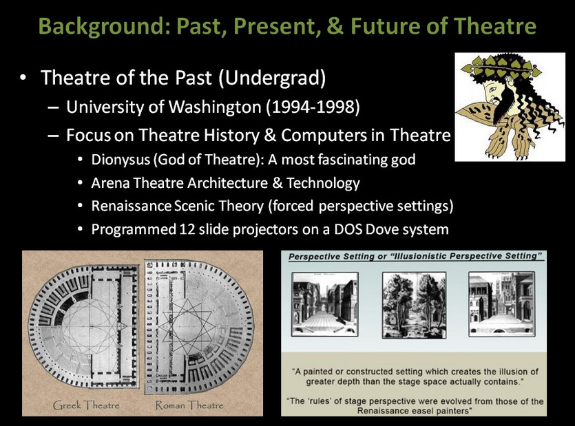 Theatre of the Past (Undergrad)