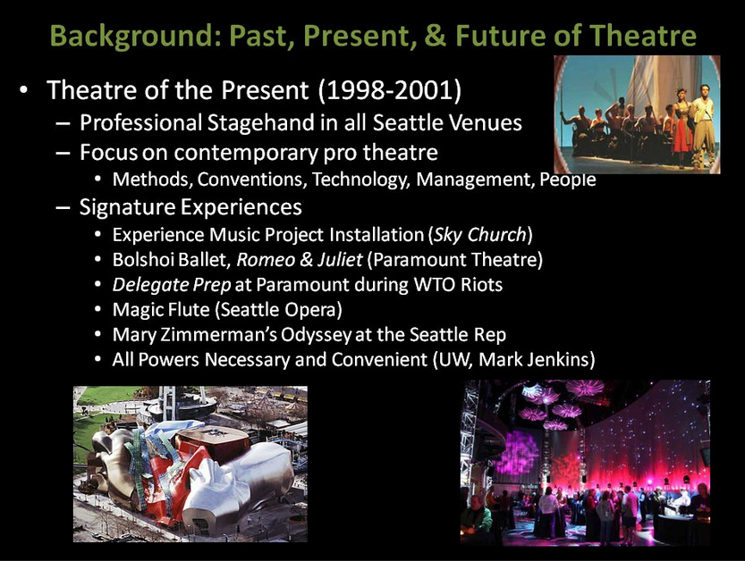 Theatre of the Present (Professional Stagehand)